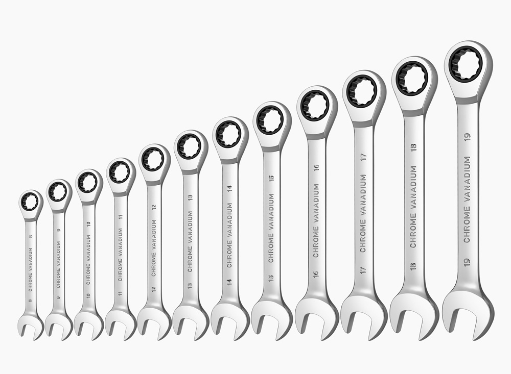 Ratchet Combination Metric Wrench Set Hand Tools for Nut Tools  Ring Spanner Torque Gear Ring Wrench Combination Key