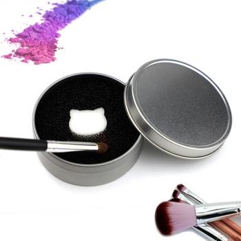 Pędzel czyszczący do makijażu gąbka do usuwania koloru z pędzla do cieni do powiek gąbka do czyszczenia narzędzi Quick Color Off pędzle do makijażu Cleaner tanie i dobre opinie Jedna jednostka CN (pochodzenie) Pędzel do makijażu