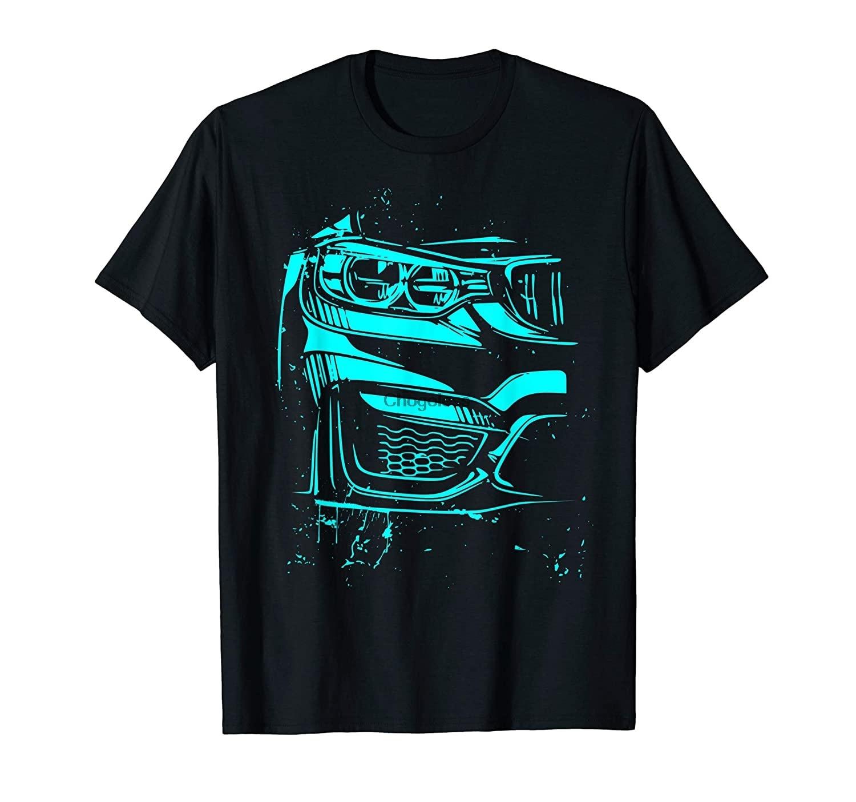 Спортивная Тюнинг автомобиля подарок для мужчин Racecar 80 82 художественная футболка (1)