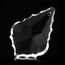 Прозрачное стекло люстры кристаллы лампы Призмы детали Висячие капли Подвески 38 мм