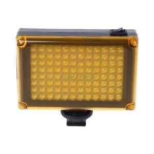 Image 5 - ドロップ卸売高輝度撮影DVFT 96 ledビデオライトカメラのdvビデオカメラミノルタ