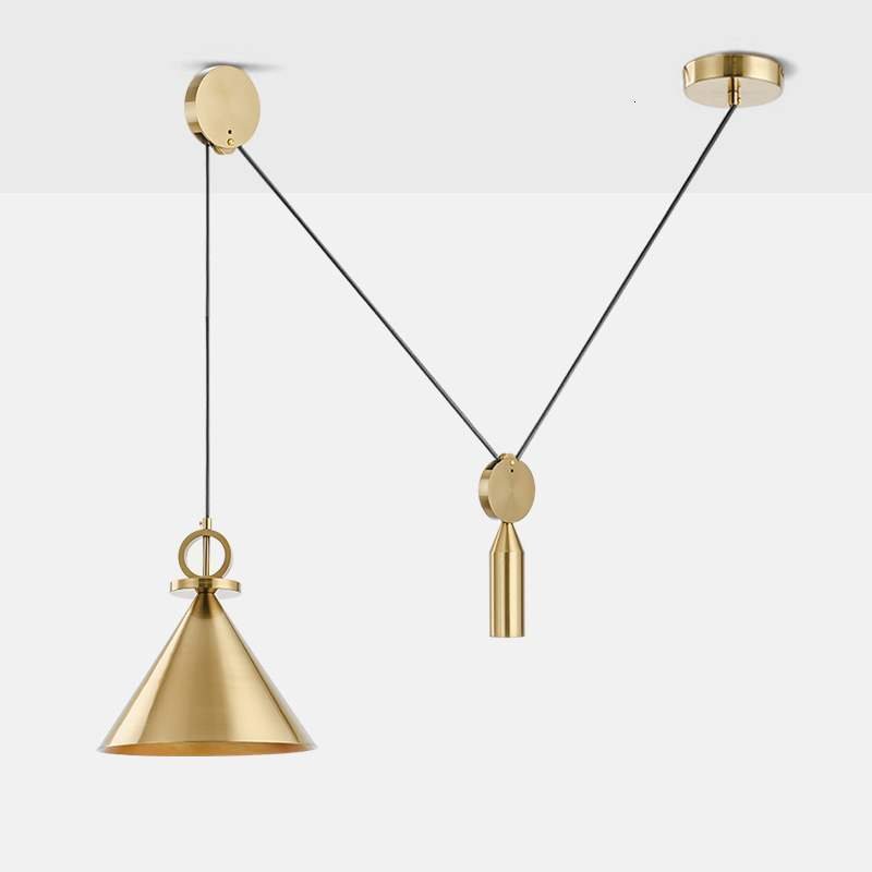 Style A Chandelier A Living Room Bedroom Restaurant Bar Counter Modern Concise Atmosphere Single Head Arts Lamps And Lanterns