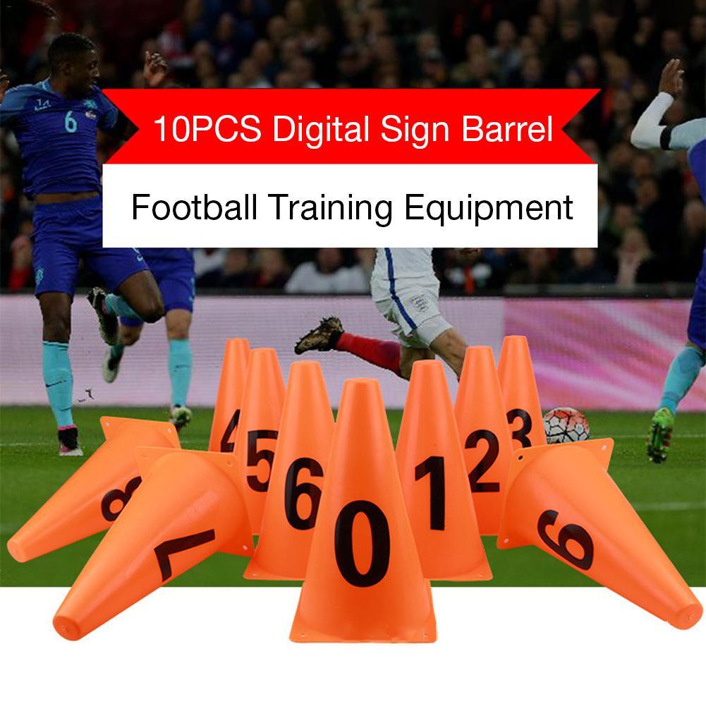 Treinamento de Futebol Sinal de Bloqueios Balde