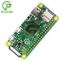 Ahududu Pi sıfır için V1.3 1GHz 512MB entegre mikro-sd yuvası 40pin GPIO konektörü kurulu modülü arduino için