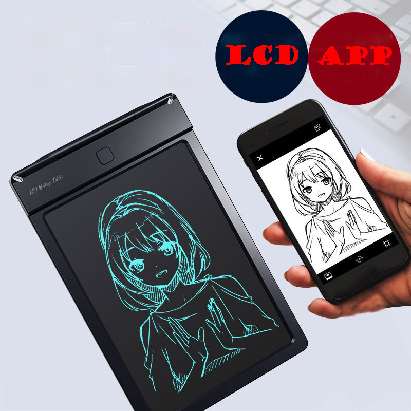 6.6 Inch LCD Writing Tablet Digital Drawing Toy Tablet Mini Portable Electronic Handwriting Pad Memo Pad Note Board For Drawing