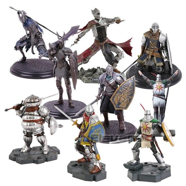 Dark Souls Heroes of Lordran Siegmeyer Black Knight Faraam Artorias PVC Figure Collectible Model Toy