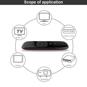 Image 3 - Wechip エアマウスワイヤレスキーボード W2 2.4 タッチパッドマウス赤外線リモコンで PC のためのプロジェクター