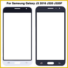 New LCD front glass For Samsung Galaxy J3 2016 J320 J320F J320M J320H J320FN Display Digitizer Sensor outer Glass Touch Screen(China)