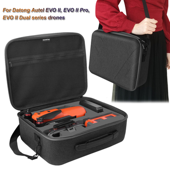 Large Capacity Shoulder Bag for Autel EVO II/Pro/Dual Portable Handheld Case Cover with Mesh Pocket for Autel EVO II/Pro/Dual