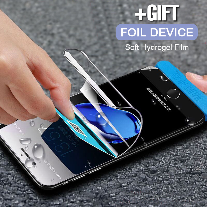 Soft Hydrogel Film For iphone XS Max XR X 8 7 Full Cover Screen Protector For