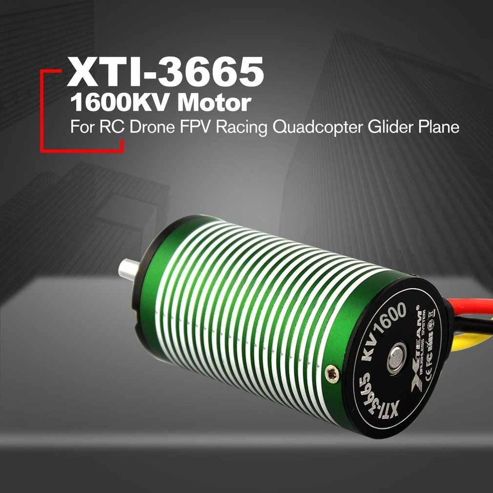 X-TEAM XTI-3665 גבוהה ביצועים 1600KV Brushless מנוע לrc Drone FPV מירוץ Quadcopter גלשן מטוס חלקי חילוף