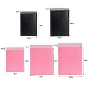 Composite-Bag Envelopes Bubble-Mailer Poly Pink Sealing-Padded Shockproof 5size