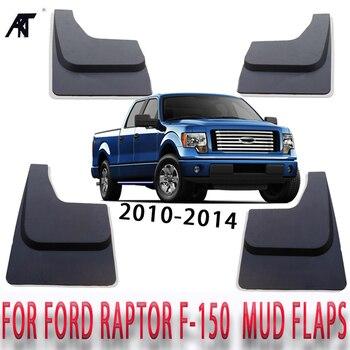 Mud Flaps For Ford RAPTOR F150 F-150 2010 2011 2012 2013 2014 Splash Guards Mud Guards Fender with Screws RA009 Mudguard