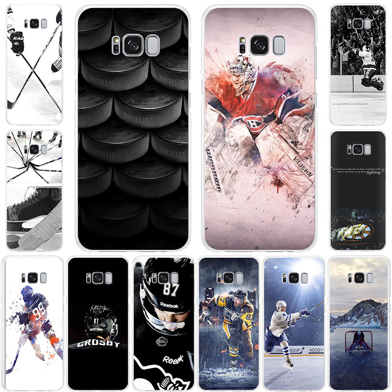 Love ICE Hockey Silicone Soft phone case for Samsung Galaxy S11 <font><b>S105G</b></font> S10+ S9 S8 A6Plus S7 A7 A5 A82018 A9Pro S10e S6 edge cases image