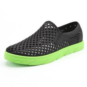 Image 4 - Summer Beach Sandals Men Shoes Breathable Aqua Shoes River Sea Slippers Men Outdoor Flip Flops Barefoot Shoes zapatos hombre