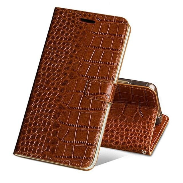 Flip Case For Huawei P10 P20 P30 lite Mate 10 20 lite Pro  Y6 Y7 Y9 P Smart 2019 Crocodile Grain For Honor 7X 8X 9 9X 10 20 lite