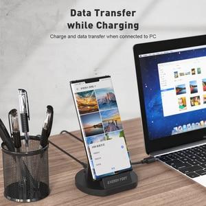 Image 4 - SIKAI 11th Gen 5A chargeur Super rapide support de Charge magnétique câble USB pour Huawei Mate 40 Pro aimant chargeur rapide