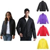 Зимнее сверхлегкое теплое пальто размера плюс, куртка для мужчин и женщин, легкое водостойкое хлопковое Стеганое пальто, верхняя одежда, 구...