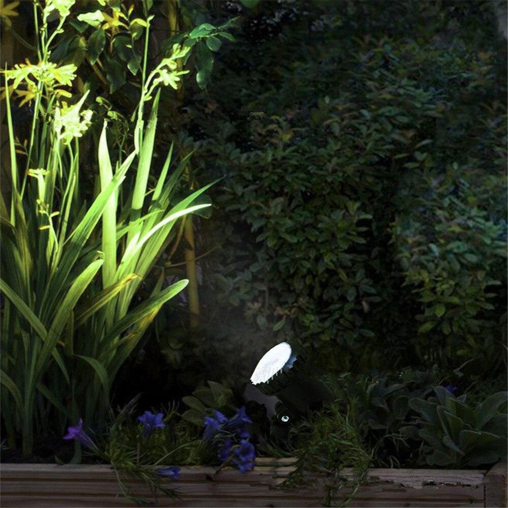 quente branco lâmpadas paisagem spotlight para jardim
