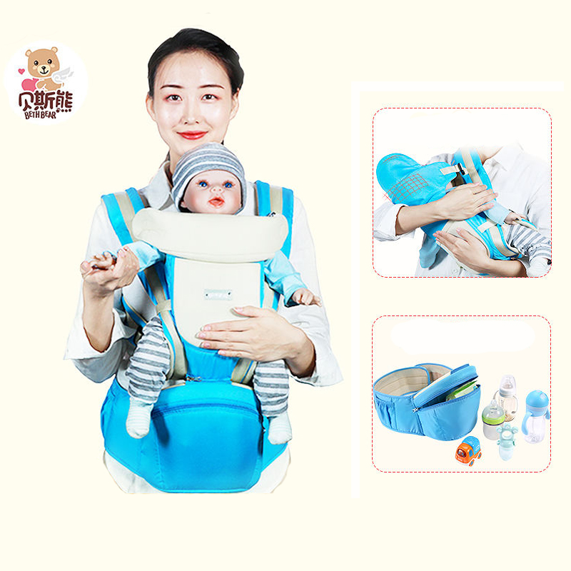 Hipseat Ergonomic Baby Carrier Backpack Wrap For Baby Waist Carriers Baby Kangaroo Carrying For Small Sling Newborn Baby Carrier