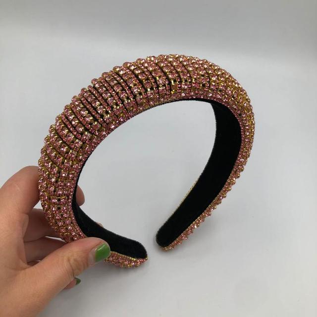 Full Crystal Sponge Headband  5