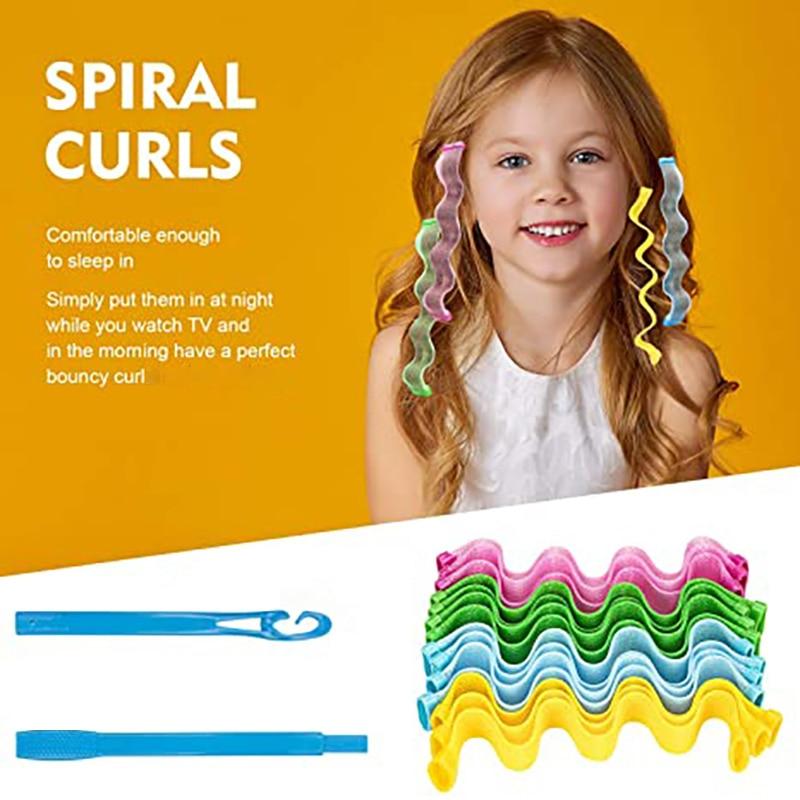Magia modelador de cabelo 12 pces 24