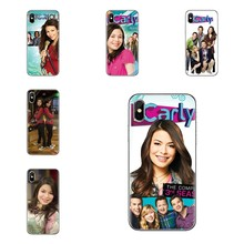 Transparent Clear TPU Case iCarly Season 6 For Samsung Galaxy S2 S3 S4 S5 MINI S6 S7 edge S8 S9 Plus Note 2 3 4 5 8 Coque Fundas(China)