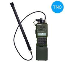 TNC antena táctica de AR 152, Cable extensible coaxial para Walkie Talkie Kenwood AR 148, TK 378, Harris AN/PRC 152, 148