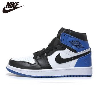 2020 NIke Air Jordan 1 męskie obuwie do koszykówki klasyczne malinowe błyskawice niebieskie środkowe podświetlone męskie wygodne CA3011-0239 tanie i dobre opinie VN (pochodzenie) Buty do koszykówki Średnie (b m) Niskie RUBBER Syntetyczny Formotion Lace-up Fall2017 Pasuje prawda na wymiar weź swój normalny rozmiar