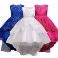 Vêtements de filles Perle Broderie Blanc robe de mariage Enfants vêtements noël Enfants tenue de fête bébé Filles Princesse robe|girls princess dress|kids party dresses|princess dress -