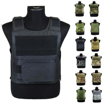 цена на Airsoft Tactical Vest Plate Carrier Swat Fishing Hunting Military Army Armor Police Molle Vest