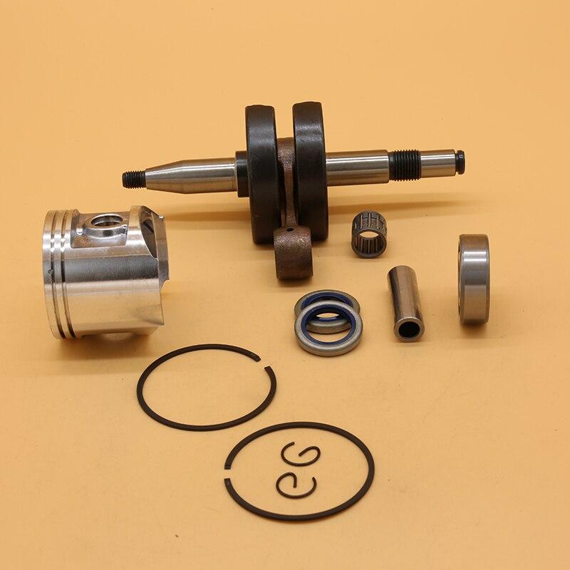Piston Oil XP Engine Spare Parts 50mm 48 Crankshaft Seal 362 BORE Amp Garden Chainsaw  Bearing For BIG 372 Set 365  HUSQVARNA 371