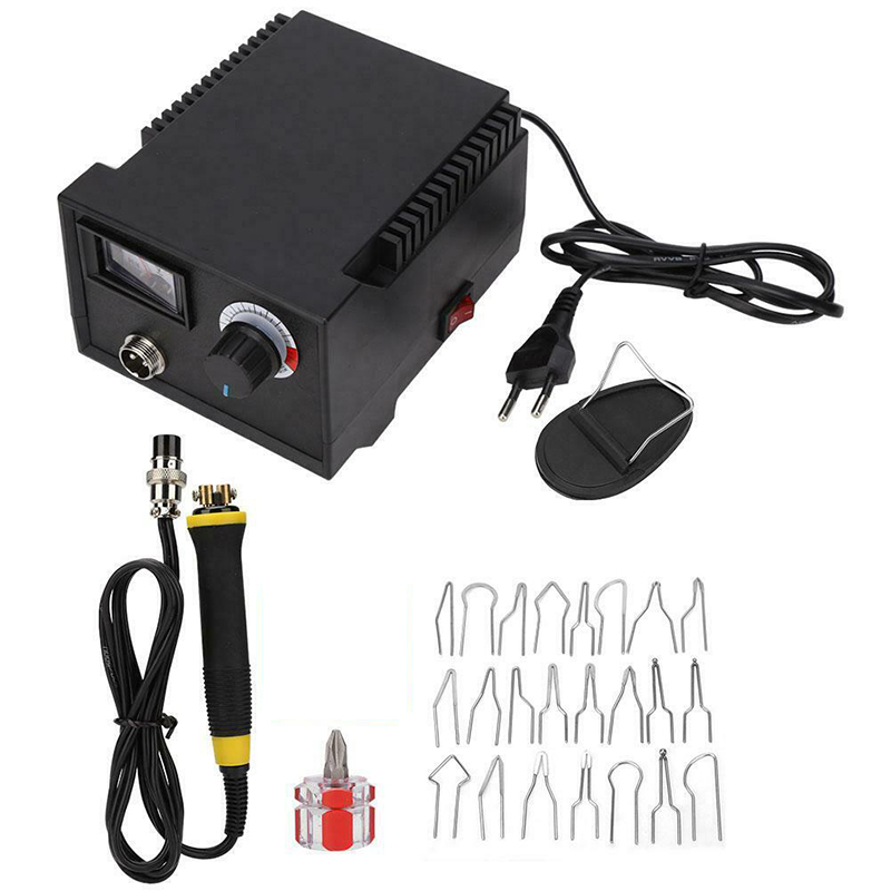 1 Set EU/US/UK Plug LH40-Z Pointer Display Pyrography Machine Pyrography Pen & Tips Kit Woodworking Brazing Crafts