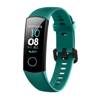 FIFATA Silicone Watch Strap For Honor Band 4 5 Wristbands Accessories Replacement Sport Strap For Huawei Honor Band 5 4 Bracelet 2