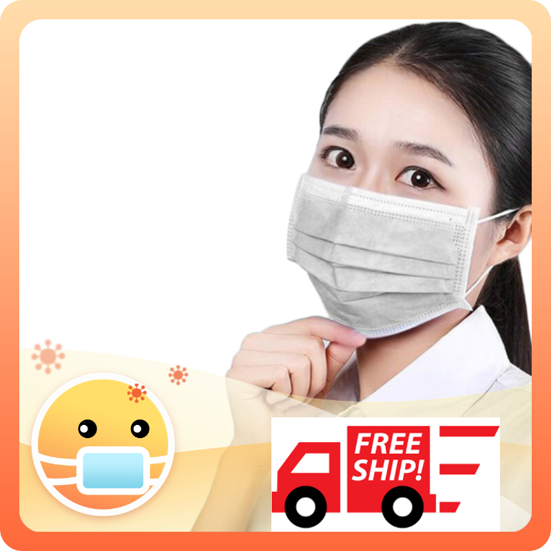 Face Mask Anti Dust Korean Disposable 100pcs Blue Activated Carbon Filter Windproof Cotton Pm2.5 Black Mouth 3-layer