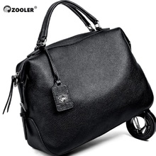 цена на ZOOLER 2016 new delicate designed real leather bag bags handbags women famous brands luxury shoulder bag bolsa feminina#8116