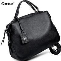 ZOOLER 2019 Designed Soft Genuine Leather Bags Women Leather Handbags Brands Luxury Shoulder Bag Ladies Tote Bag Bolsa Feminina