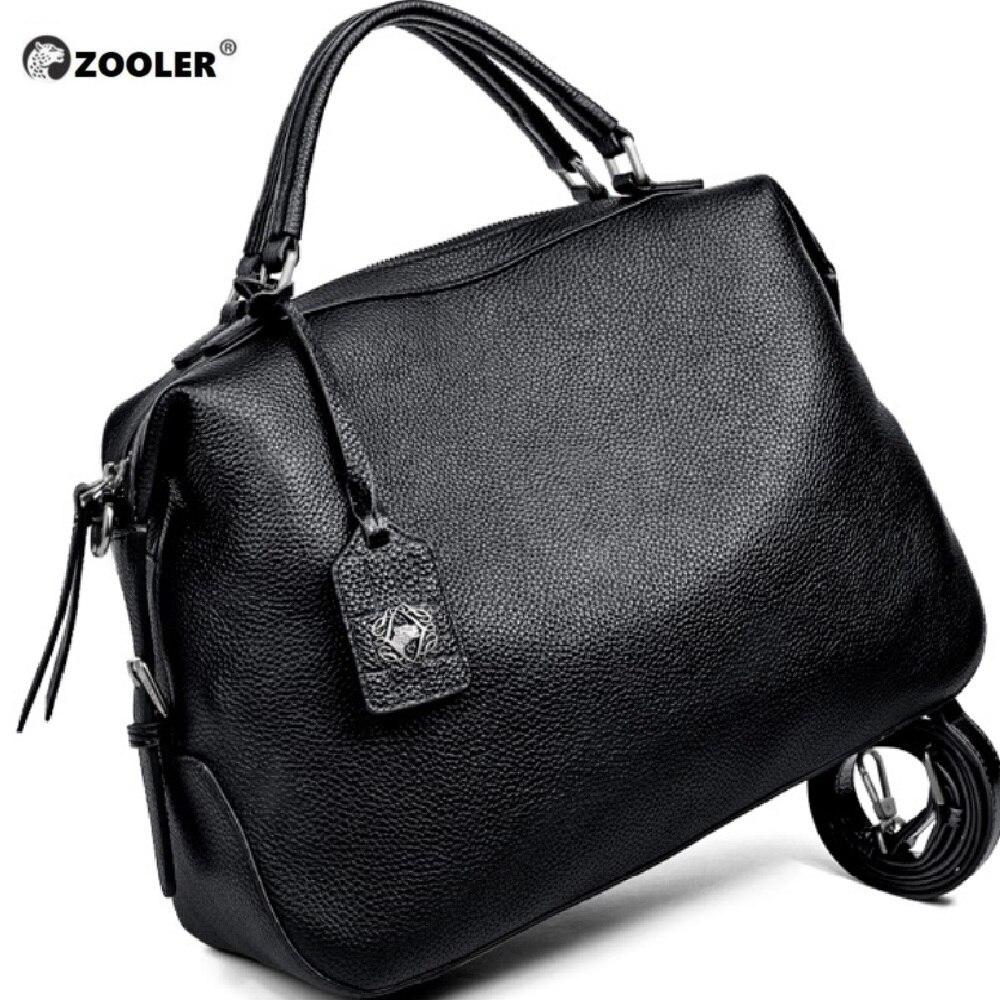 Bagaj ve Çantalar'ten Üstten Saplı Çanta'de ZOOLER 2019 tasarlanmış yumuşak hakiki deri çanta kadın deri çantalar markalar lüks omuzdan askili çanta bayanlar Tote çanta Bolsa Feminina'da  Grup 1