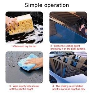 Image 4 - קרמיקה רכב לשטוף לבצר מהיר מעיל פולני & אוטם תרסיס רכב ננו קרמיקה ציפוי ליטוש ריסוס שעוות 120ml