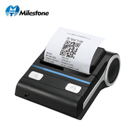 Thermal Printer Bluetooth Android Bluetooth receipt 80mm Thermal Portable Wireless Printer Mini Pos Printing Machine with case