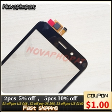 Novaphopat Black sensor Touchscreen For BQ BQ 5011G BQ 5011G Fox View / BQ 5015L 5015L First Touch Screen Digitizer Screen