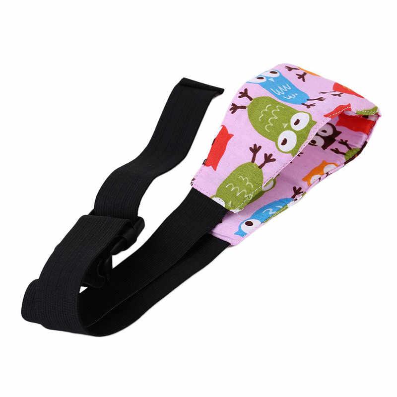 Anak Bayi Keselamatan Kursi Mobil Kepala Dukungan Tidur Siang Membantu Anak Pelindung Kepala Sabuk Handband Sabuk Katun
