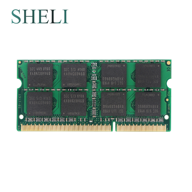 SHELI 8GB PC3-10600 DDR3 1333MHz mémoire RAM pour APPLE MacBook Pro iMac Mac mini
