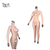 Female D Cup Silicone Full Body Half-length/full length With Arm For Crossdresser Transgender Drag Queen