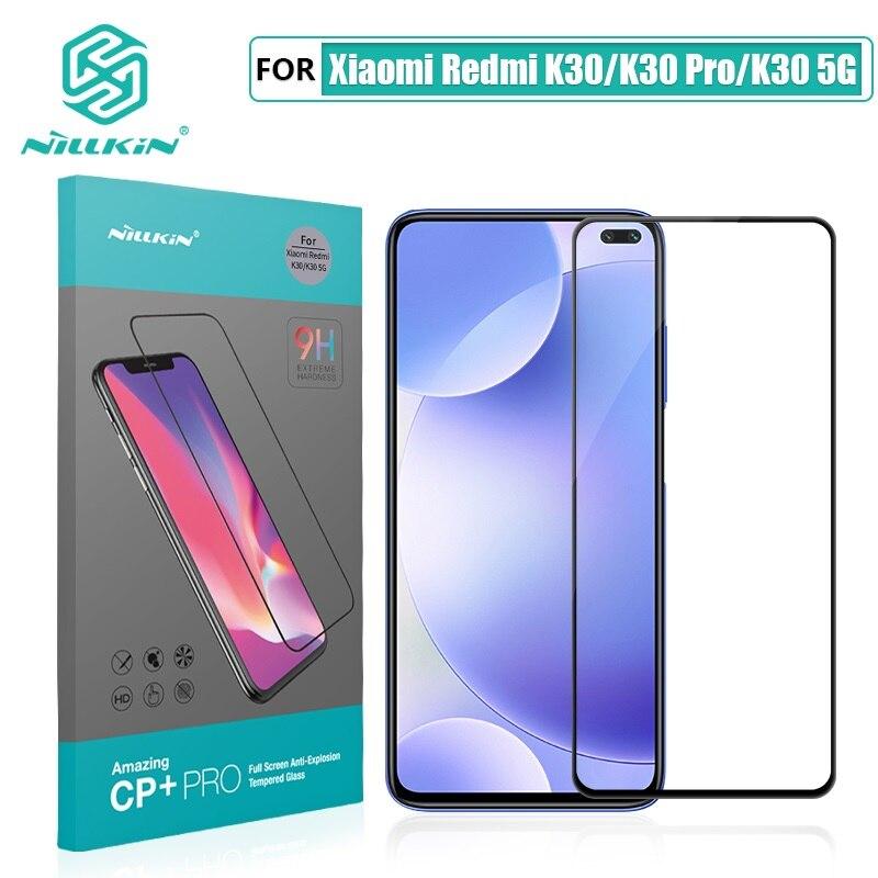 For Xiaomi Redmi K30 Glass Screen Protector NILLKIN Amazing H/H+PRO/XD+ 9H Redmi K30 Pro Tempered Glass Protector Redmi K30 5G