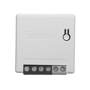 Image 2 - 8Pcs SONOFF R2 Mini WiFi Smart Switch DIY Appliance Automation Remote Control Switch Timer for Alexa Google Home WiFi Switch