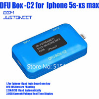 JC DFU BOX C2 Forfor iphone 5s xs max Restoring Rebooting IOS Instantly SN/ECID/MODEL Information Reading USB Current/voltage
