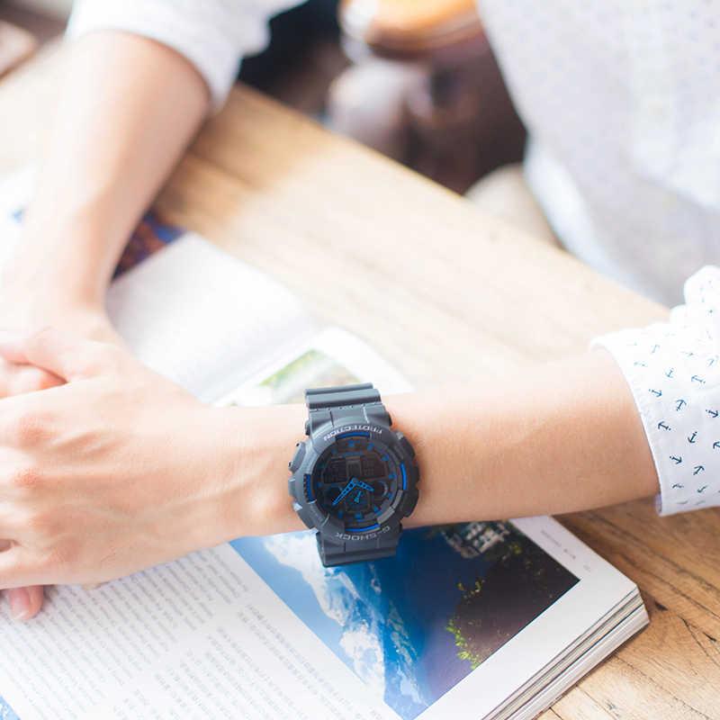 Zegarek Casio G-SHOCK serii wielofunkcyjny męski zegarek sportowy GA-100-1A2