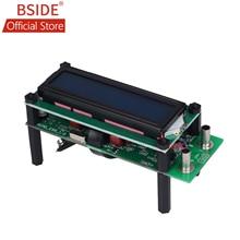 BSIDE ESR01 Автоматический диапазон Цифровой LCR тестер сопротивления, емкости и индуктивности Емкостное измерительное устройство ESR метр USB мощность
