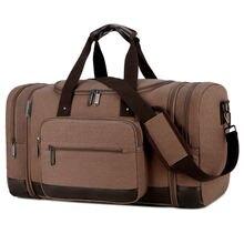 Холщовые дорожные спортивные сумки высококачественный Дорожный